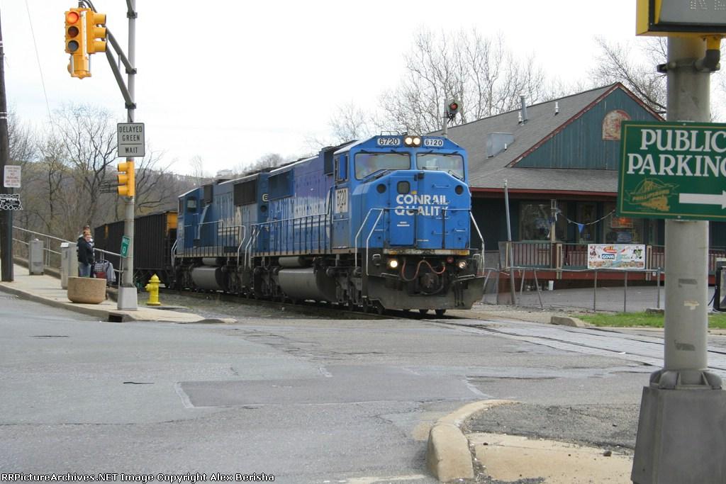 PPLX Coal Train through Union Square