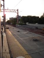 Former westbound Broad Street platform