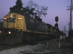 CSXT 7654 picks up some rock hoppers on K967