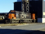 CN 5038 at Macmillan Yard shop track