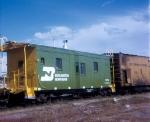 BN ex NP caboose