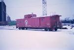 """GN """"Hutch"""" caboose"""