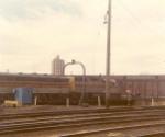 EL units at Minneapolis Jct 1970
