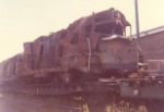 Wrecked SP&S unit