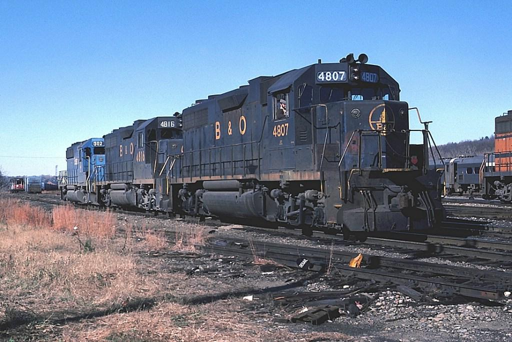B&O 4807, 4817, B&M 302