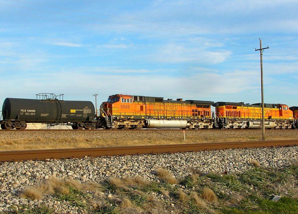 BNSF 5525
