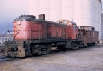 CGW Alco and caboose