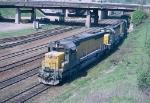 CNW train #490
