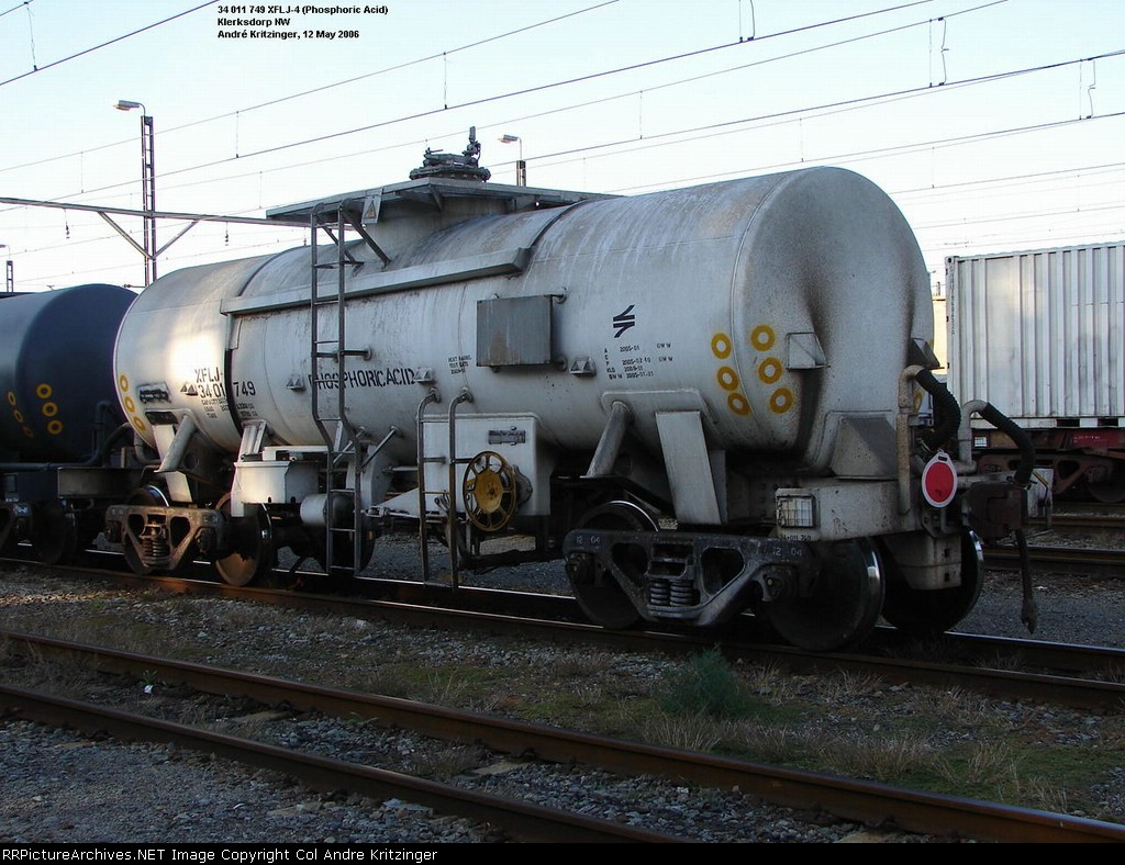 SAR Class XF-4 (Side A)