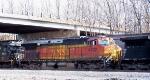 BNSF 4932 - Christmas Surprise!