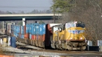 UP Powered stack train