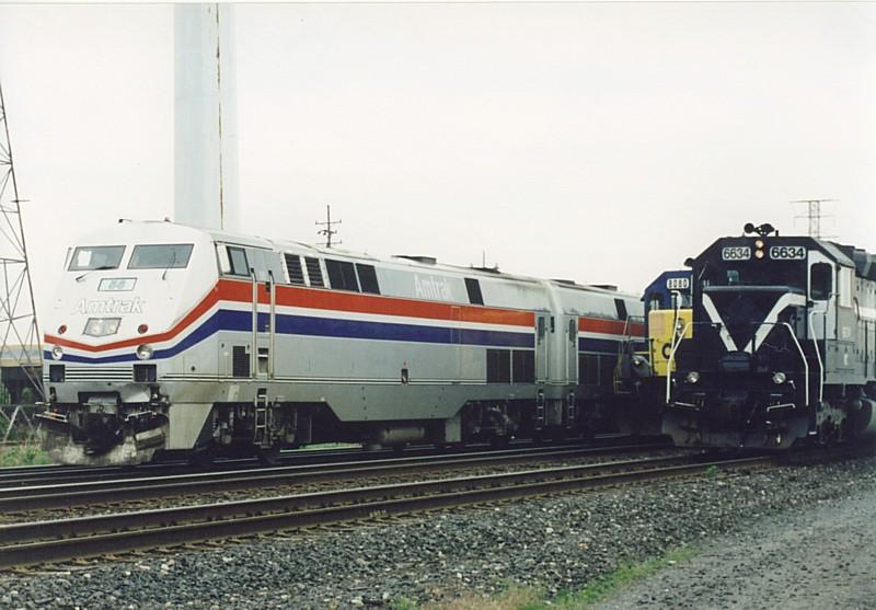 Amtrak Pushes Through