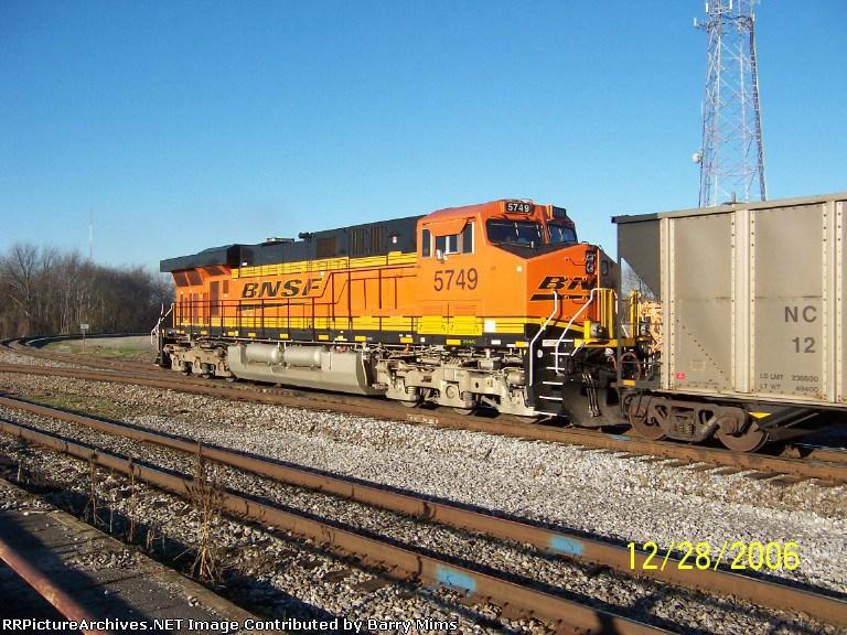 DPU unit BNSF 5749