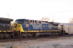Closeup of CSX 497