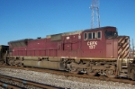 Closeup of CEFX 137 on NS train 72Z