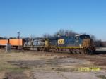 CSX 5238 leads train S124