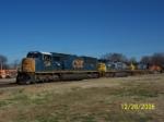 CSX 4798 leads CSX southbound train Q575