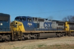Closeup of CSX 7664