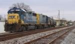 CSX 6411, 2341 and Depot