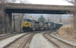 CSX & NS together