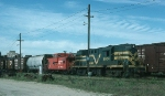 Central Vermont Railway (CV) Alco RS11 No. 3604 and Grand Trunk Railway (GT) Caboose No. 75960