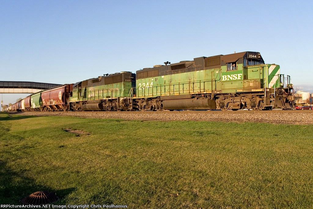 BNSF 2344 (Drayton Local)