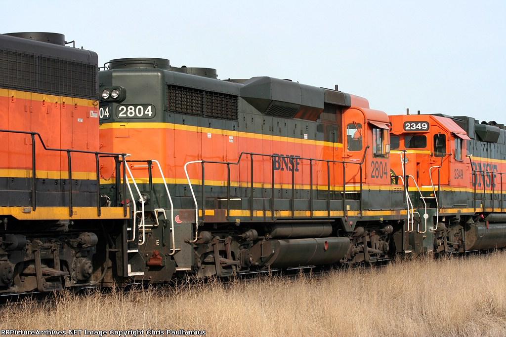 BNSF 2804