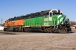 BNSF 2903 (Striped Whiteface!)