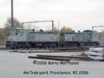 Amtrak yard in Pawtucket / Providence Rhode Island