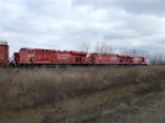 CP 8834, 8835, 8836 Brand new, first day on the job.