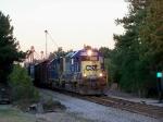 CSX 6078 and 2562 at Dusk