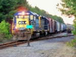 CSX 6078 Leads the Way