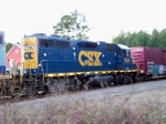 CSX 2562 and DME Boxcar