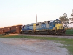 CSX 2713 and 6078