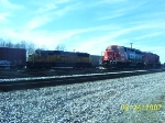 HLCX 5959, PRSX 6408(ex-CN GP40),PRSX 6404 in yard