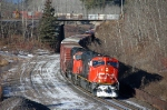 CN 5601 through Saunders