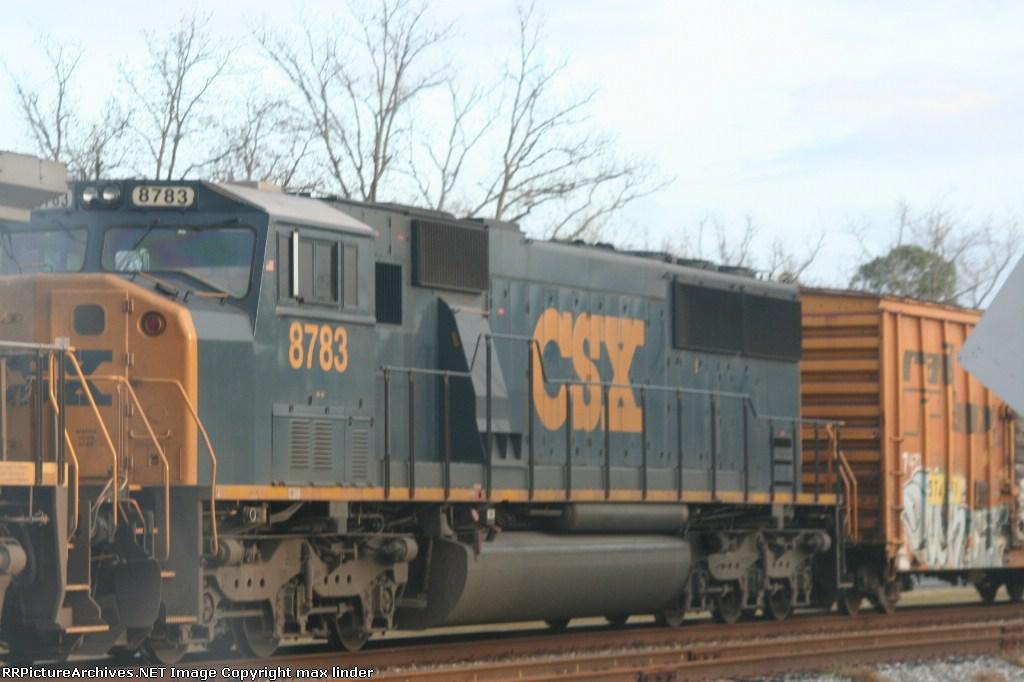CSX 8783