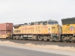 UP 9700, #5 in EB intermodal at 1:43pm