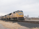 UP 4922 leads an intermodal EB at 4:15pm
