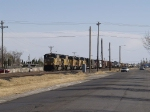 UP 4039 leads a WB manifest at 1:49pm