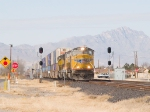 UP 4701 heads up an EB intermodal at 12:57pm