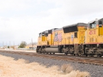 UP 4819 leads a WB intermodal at 12:52pm