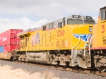 UP 5310 #3 in EB intermodal at 1:02pm