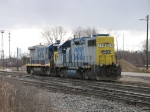 CSX 2646 & 9249 after pulling out of the house