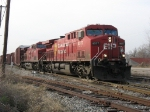 CP 8577 & 9663 leading X500 through the Plaster Creek plant