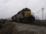 CSX 8087 & HLCX 6209 with Q326-05