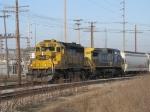 BNSF 6731 & CSX 7869 leading Q326-07