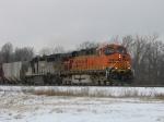 BNSF 7620 & NREX 258
