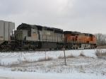 NREX 258 & BNSF 7620