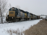 CSX 8838 leading Q335